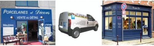 """Aménagement commercial """"Vitrines, façades et véhicules"""""""